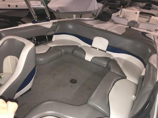 Malibu Wakesetter Ski Boat passenger seating area