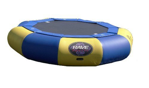 Rave Trampoline out of water